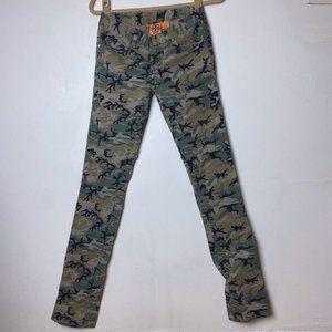 Tory Burch Super Skinny Camo Jeans